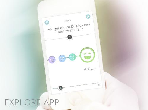 explore yourself – Datarella's behavioral analytics app