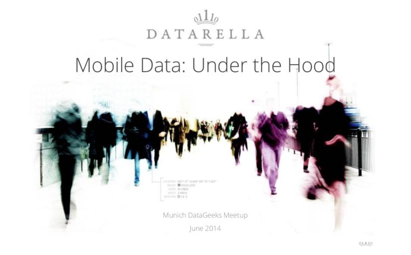 """Mobile Data: Under the Hood"""