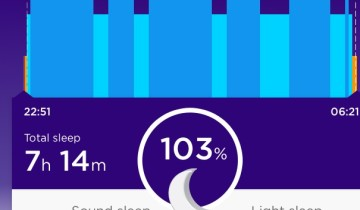 Jawbone Up not only tracks our sleep. The app also shares our data in a meaningful way with our friends - like we share our thoughts on Twitter.