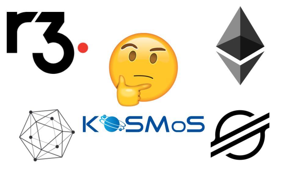 KOSMoS Possible Blockchains